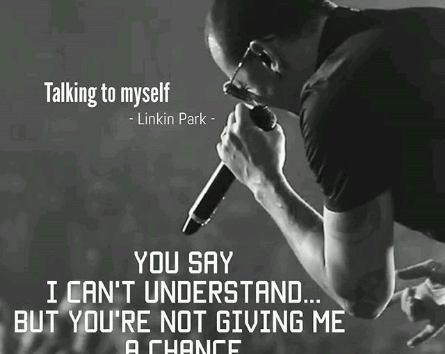 #Lyrics #TalkingToMyself