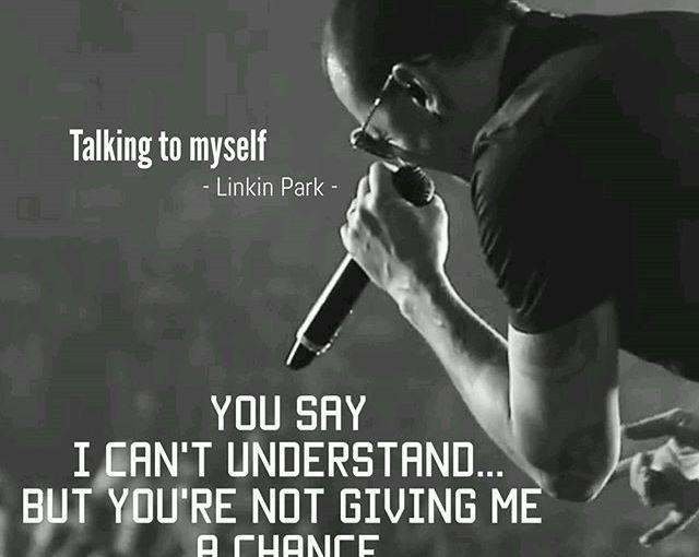#Lyrics #TalkingToMyself