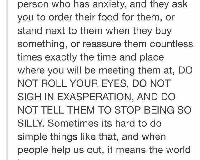 #anxiety….its more than just being anxious